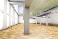 Empty apartment interior Stock Image