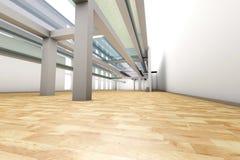 Empty apartment interior Stock Images