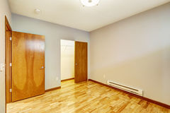 Empty apartment interior. Room with walk-in closet Stock Photography