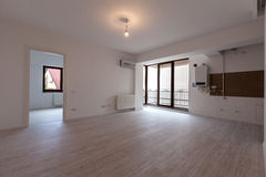 Empty apartment. A empty apartment ready for sale or rent Stock Photos