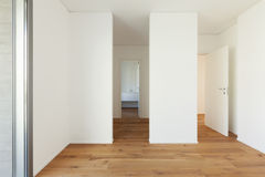 Empty apartment, room Royalty Free Stock Images