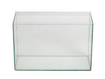 Empty aquarium Stock Image