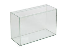 Empty aquarium Royalty Free Stock Image