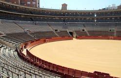 Empty Arena Bull fighting Stock Photo