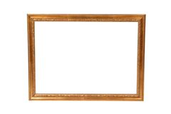 An empty artwork frame Royalty Free Stock Images