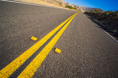 Empty Asphalt Road Royalty Free Stock Images