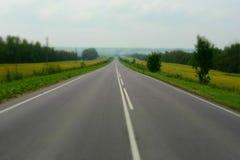 Empty asphalt road Royalty Free Stock Photo