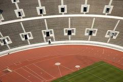 Empty athletic stadium Royalty Free Stock Image