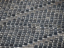 Empty audience seats Royalty Free Stock Photo