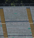 Empty audience seats Stock Image