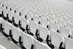 Empty audience seats Stock Photography