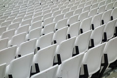 Empty audience seats Royalty Free Stock Image