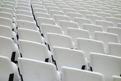Empty audience seats Stock Image