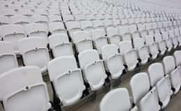 Empty audience seats Royalty Free Stock Photos
