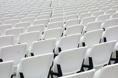 Empty audience seats Stock Images