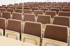 Empty auditorium Stock Photo