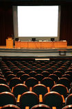 Empty auditorium Stock Photography