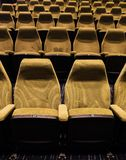 Empty auditorium with all lights Royalty Free Stock Images