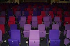 Empty auditorium Stock Photo