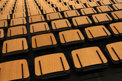 Empty auditorium empty seats Stock Photo