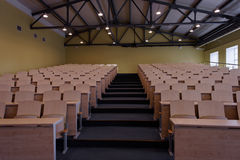 Empty auditorium in a university Royalty Free Stock Image