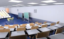 Empty aula Stock Photos