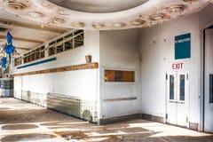 Empty Automobile Dealership Stock Image