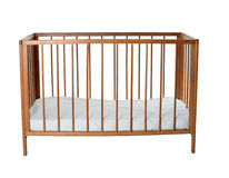 Empty baby cot Stock Photos