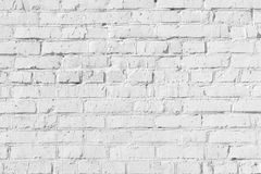 Empty background. The texture of uneven brickwork. Rows of bricks. Stock Images