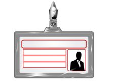 Empty badge Royalty Free Stock Images