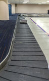 Empty Baggage Belt in The Airport at The Claim Area Stock Photography
