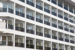 Empty balconies Stock Photos