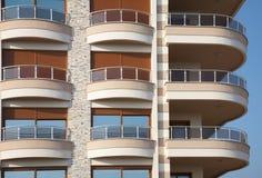 Empty balconies Royalty Free Stock Photo