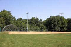 Empty Ball Field Royalty Free Stock Photo