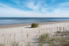 Empty Baltic sea coast. Stock Photography