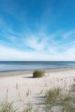 Empty Baltic sea coast. Stock Image