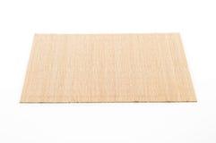 empty bamboo mat Royalty Free Stock Photo