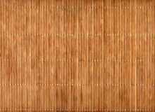 Empty Bamboo Table Mat Stock Image