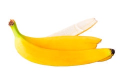 Empty banana peel Royalty Free Stock Image