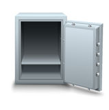 Empty bank safe for money business concept icon Stock Images