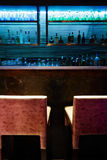 Empty bar counter Royalty Free Stock Image