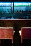 Empty bar counter