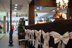 The empty bar in Karaoke Royalty Free Stock Image