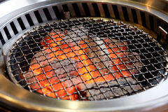 Empty barbeque grill Royalty Free Stock Photo