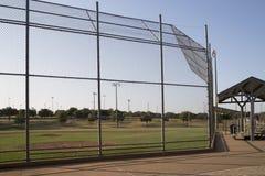 Empty baseball practice field Stock Photography