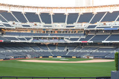 Empty baseball stadium Stock Photos