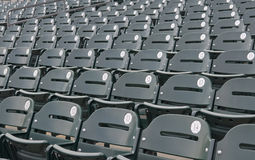 Empty Baseball Stadium Seats Royalty Free Stock Photography