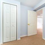 Empty basement bedroom interior design Royalty Free Stock Photography