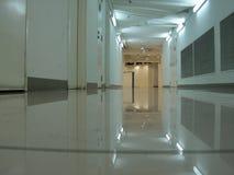 Empty basement corridor Stock Photo