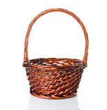 An empty basket Stock Image